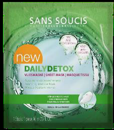 Sans Soucis - Sheet Masks / Daily Detox
